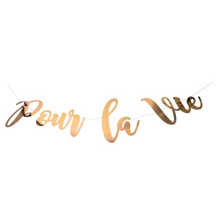 """Guirlande rose gold """"Pour..."""