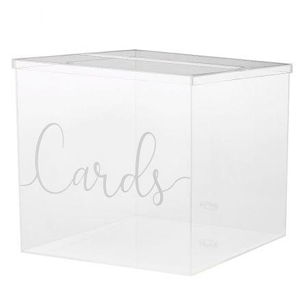 "Urne transparente ""Cards"""