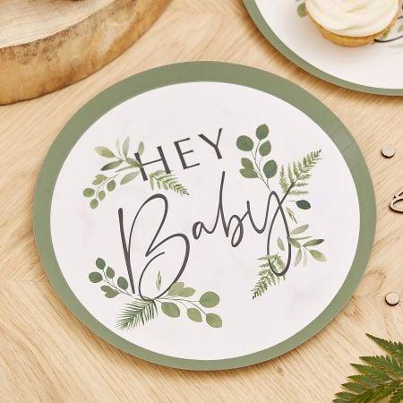 """8 assiettes botaniques """"Hey..."""
