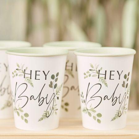 "8 gobelets botaniques ""Hey..."