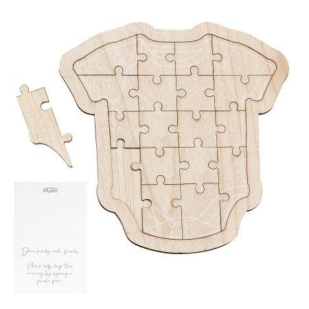 Livre d'or puzzle en bois...