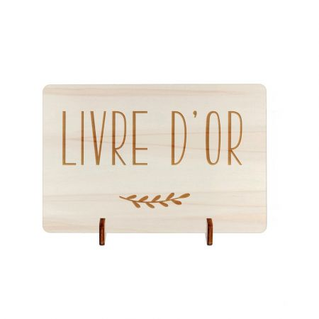 Petite pancarte en bois...