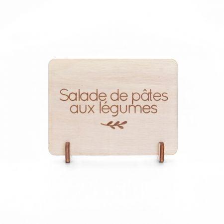 Mini pancarte en bois...