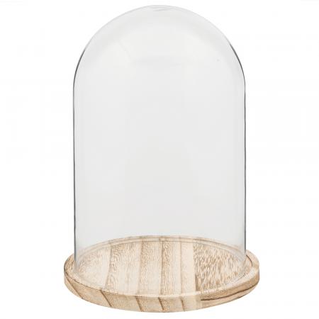 Grande cloche en verre - 25 cm