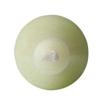 Bougie cierge vert pistache...