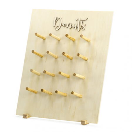 "Supports en bois ""donuts"" -..."