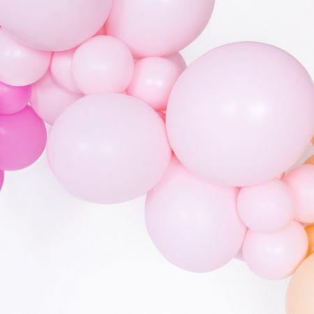Ballon pastel rose -  12 cm