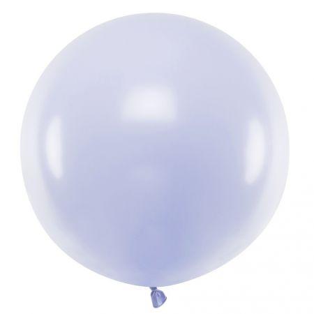 Ballon pastel mauve -  60 cm
