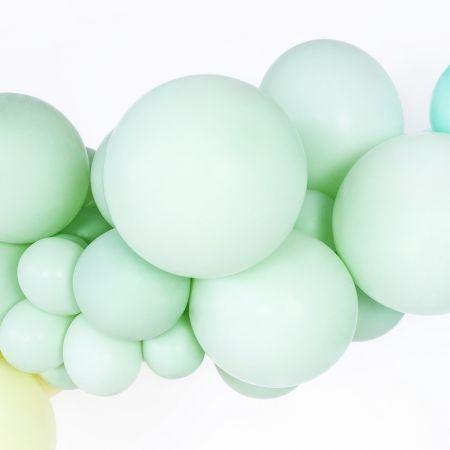 Ballon pastel pistache -...