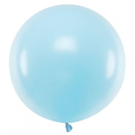 Ballon pastel bleu -  60 cm