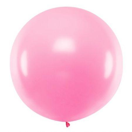 Ballon rose - 1 m