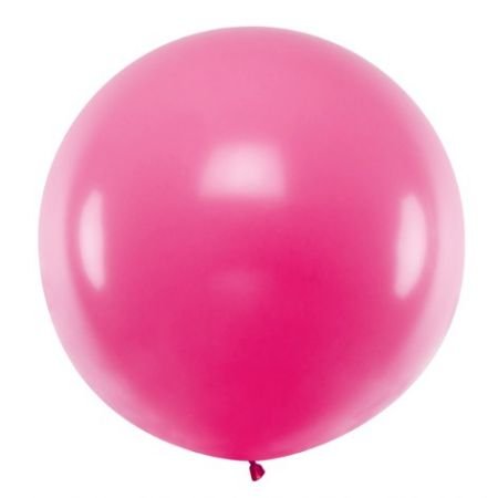 Ballon fuchsia - 1 m