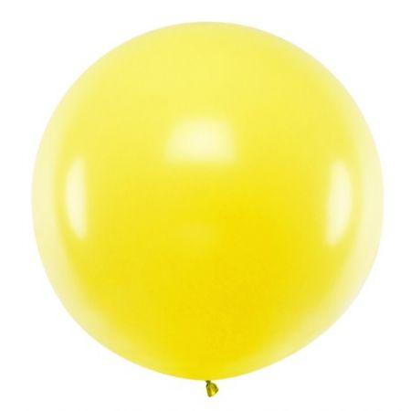 Ballon jaune - 1 m