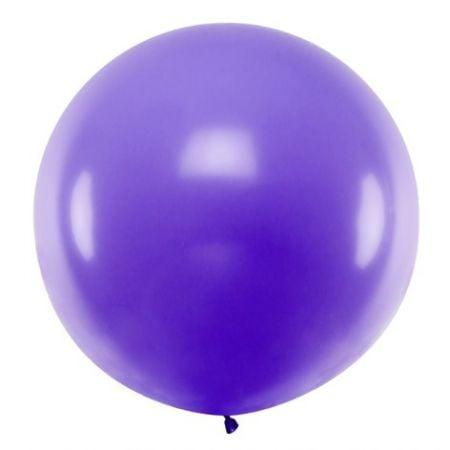 Ballon violet - 1 m