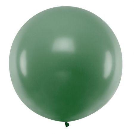 Ballon vert forêt - 1 m