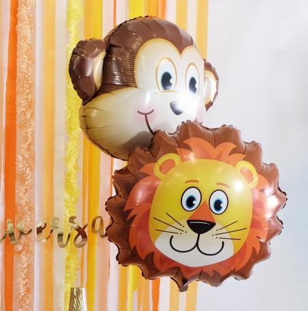 Ballon tête de lion - 72 cm