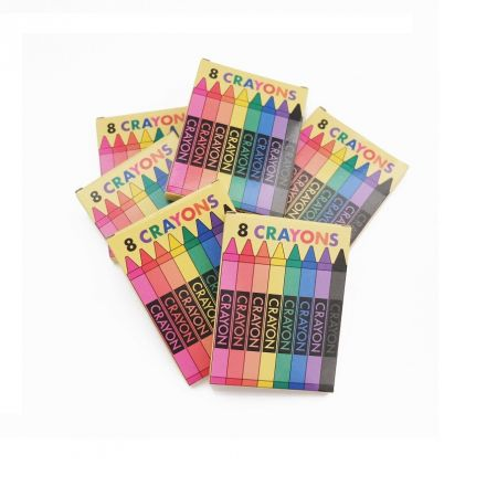 "6 jouets ""crayons de couleur"""