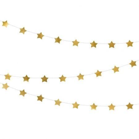 """Guirlande dorée """"petites..."""