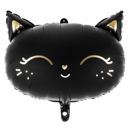 "Ballon mylar ""chat noir"""
