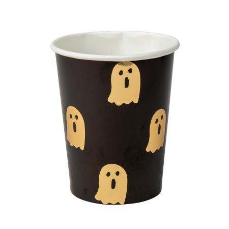 "8 gobelets ""fantôme Halloween"""