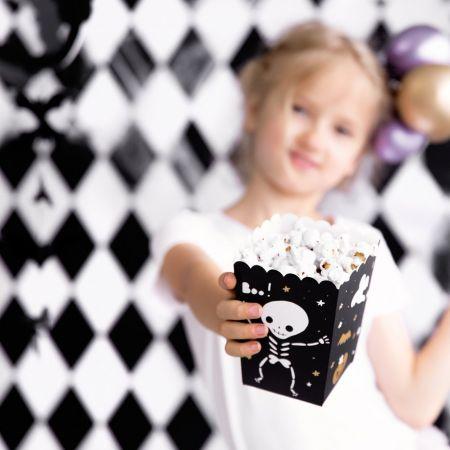 "6 pots à popcorn ""Halloween"""