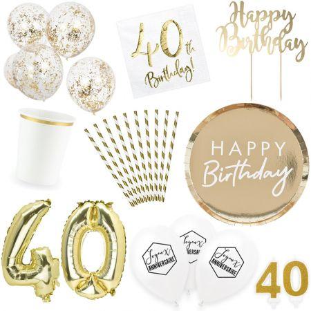 Box anniversaire 40 ans