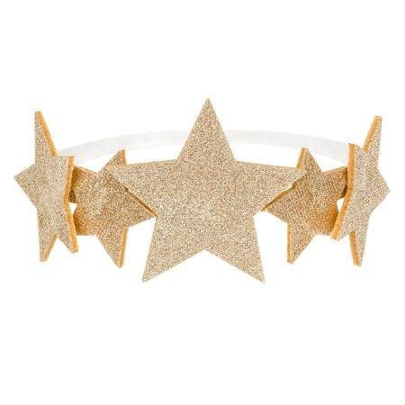 Headband étoiles dorées