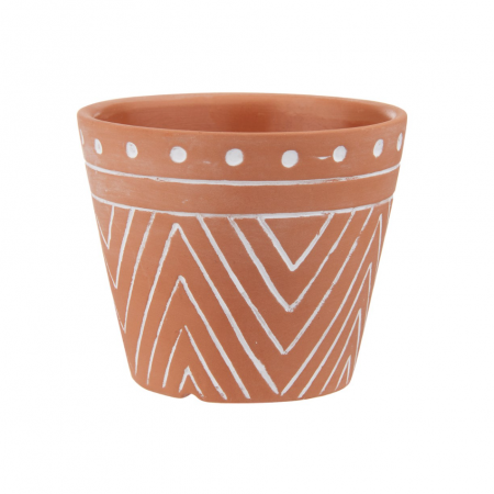 "Pot ""aztèque terracotta"" -..."