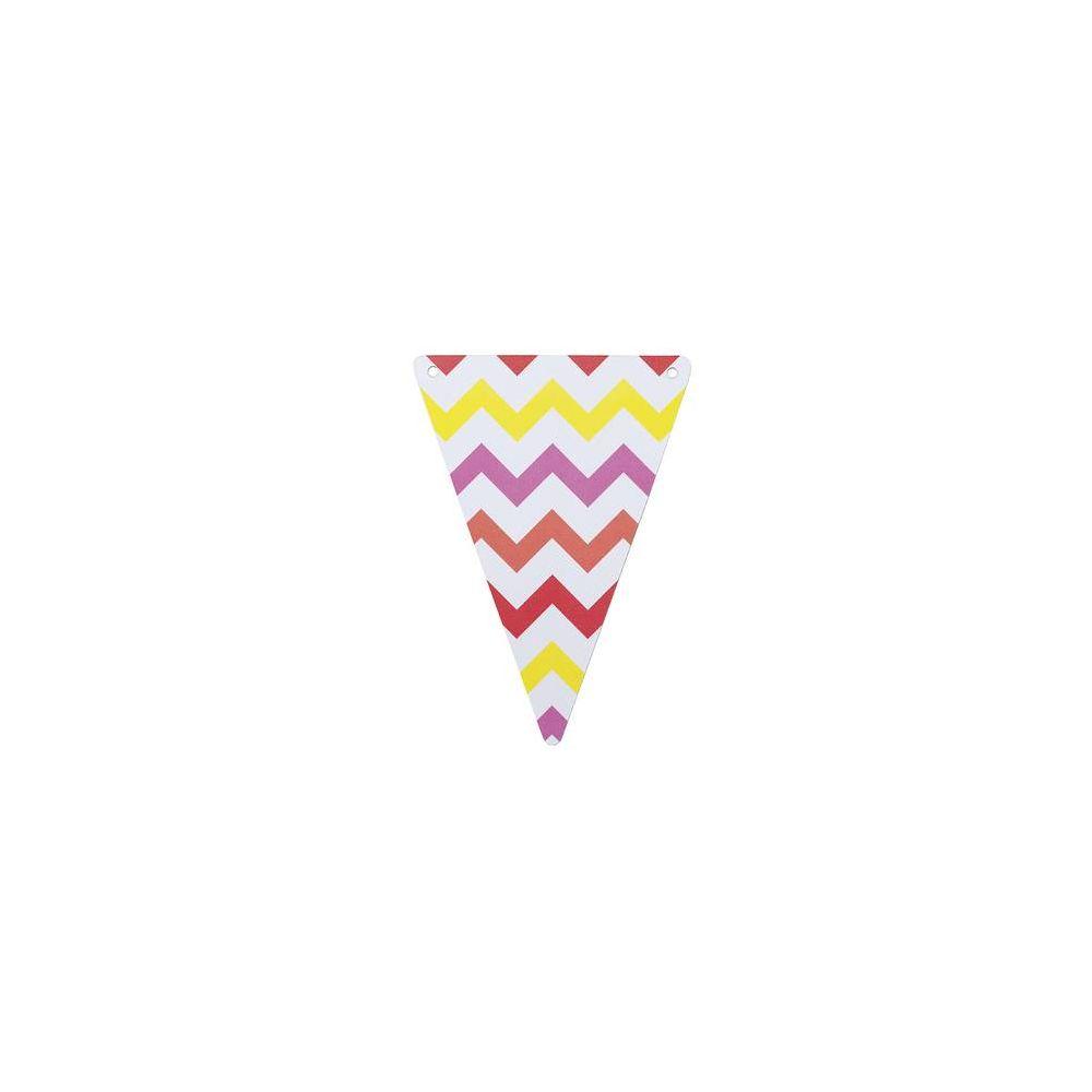 Fanion pois multicolores en papier