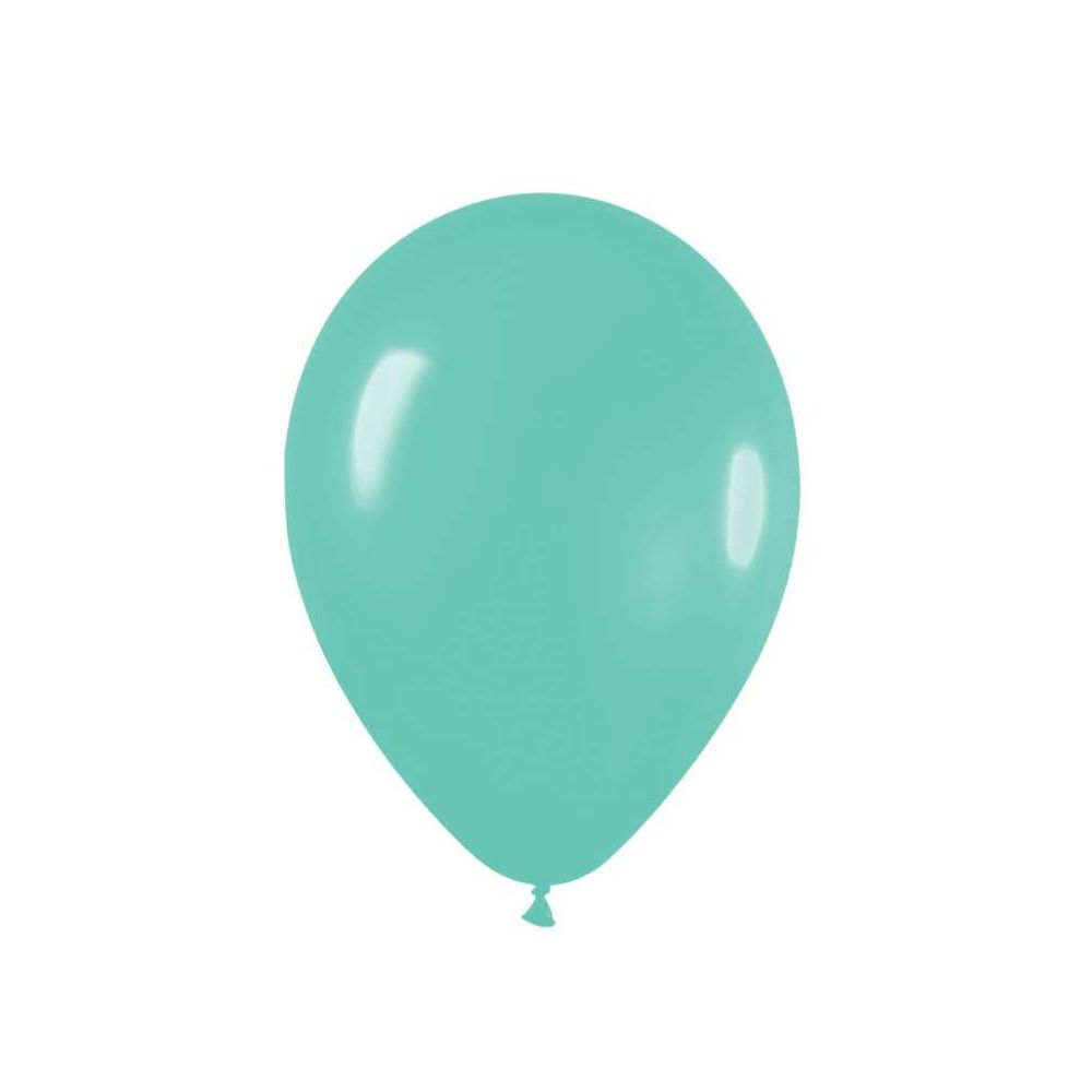 Ballon menthe -  28 cm