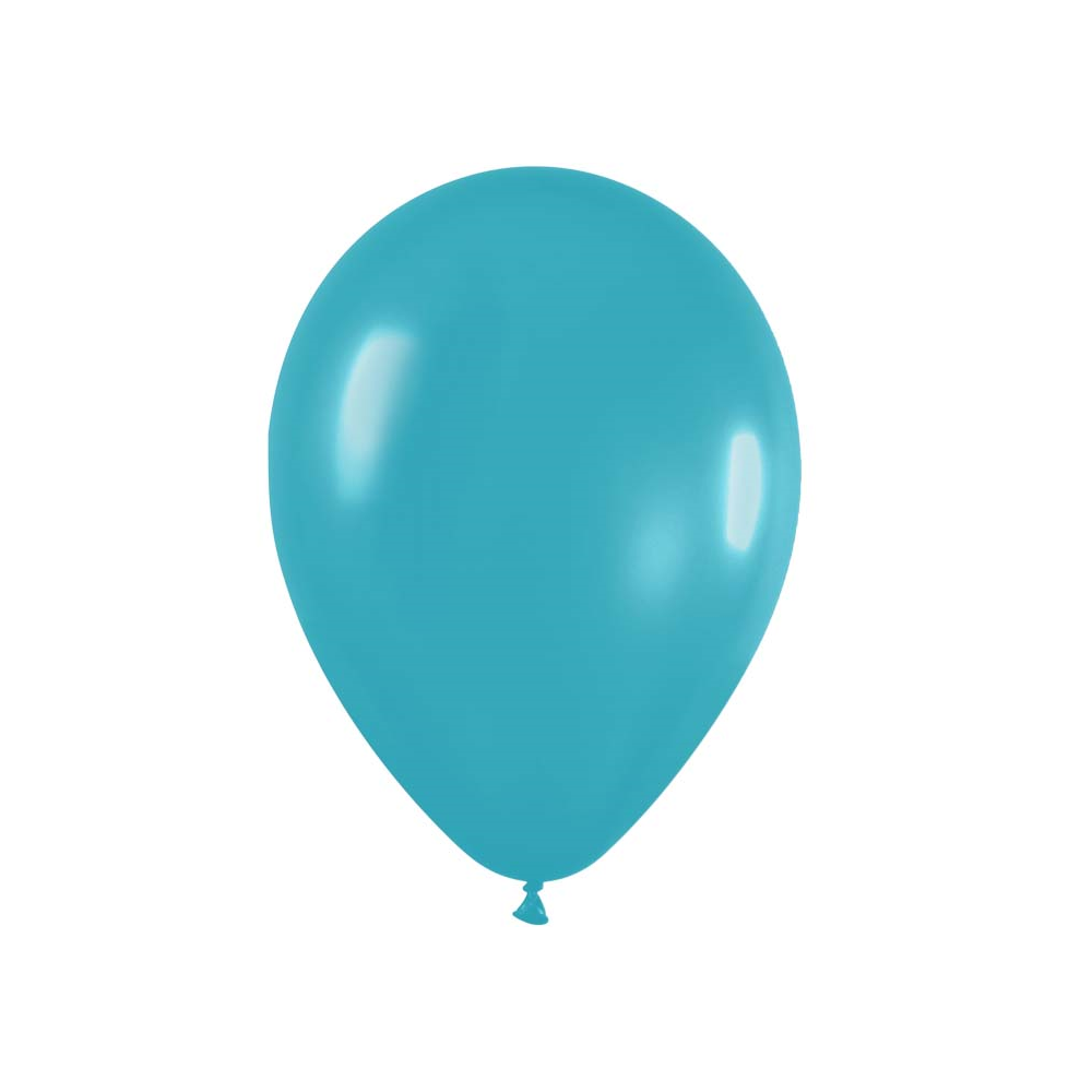 Ballon turquoise -  28 cm