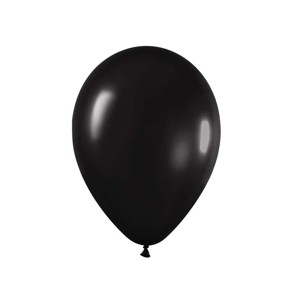 Ballon noir -  28 cm