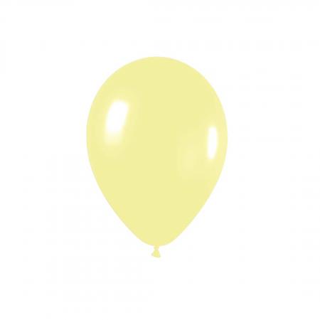 Ballon jaune -  13 cm
