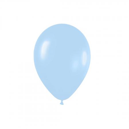 Ballon bleu pastel -  13 cm