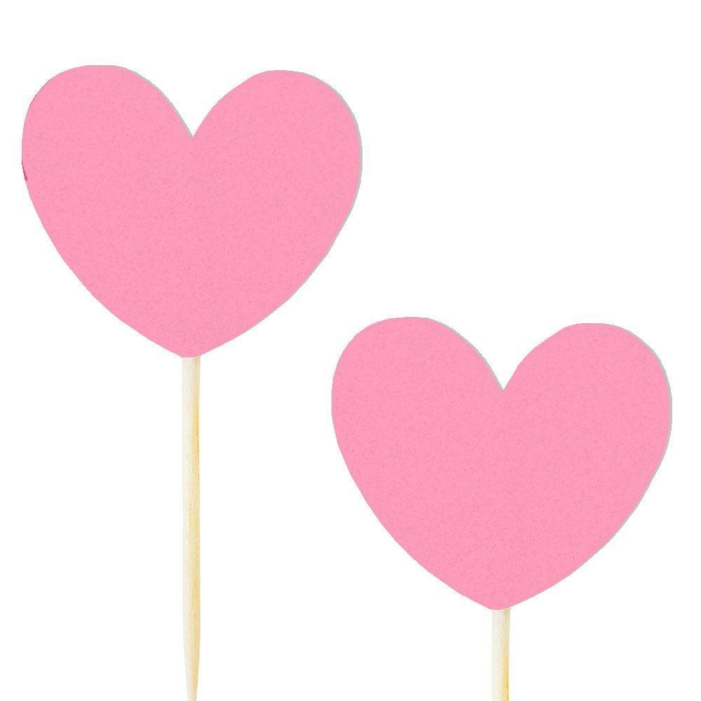 10 pics coeur rose