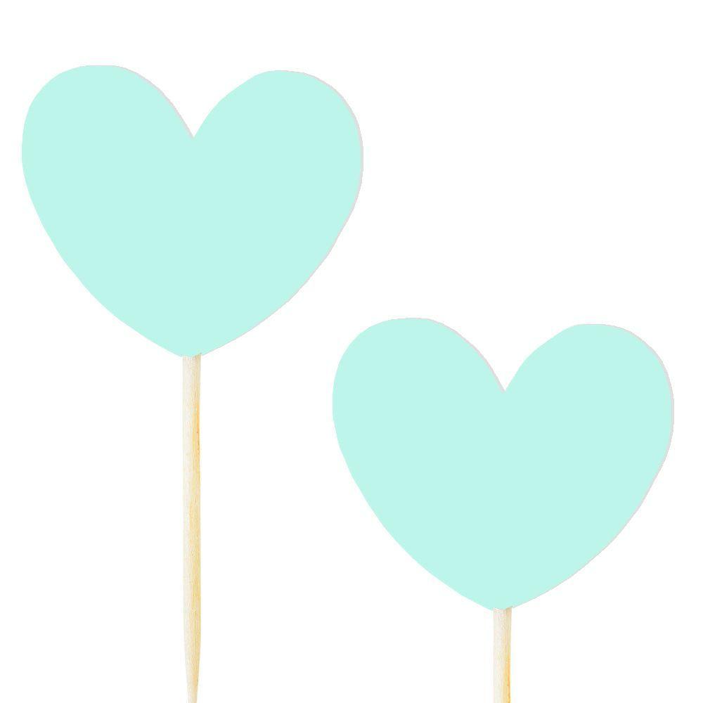 10 pics coeur menthe