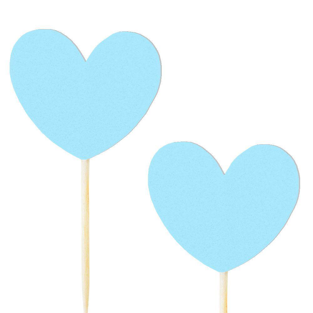10 pics coeur bleu