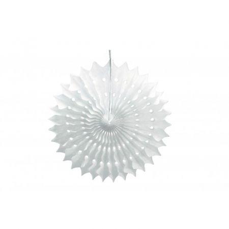 Rosace blanc - 20 cm
