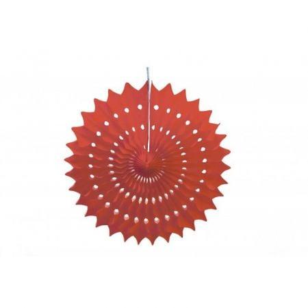 Rosace rouge - 20 cm
