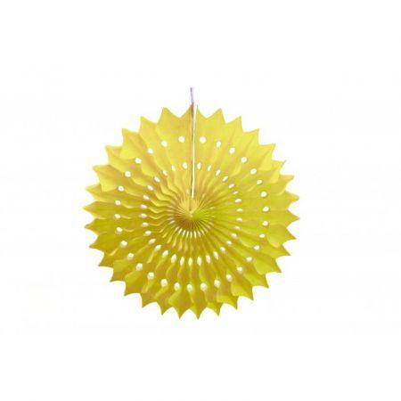 Rosace jaune - 20 cm