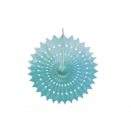 Rosace bleu ciel - 20 cm