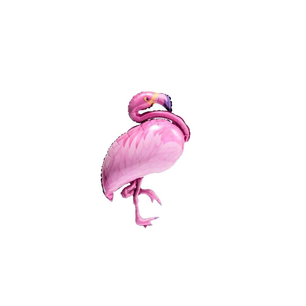 Ballon flamant rose - 1 m