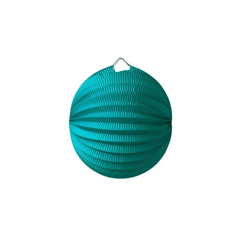 Lampion boule émeraude - 20 cm