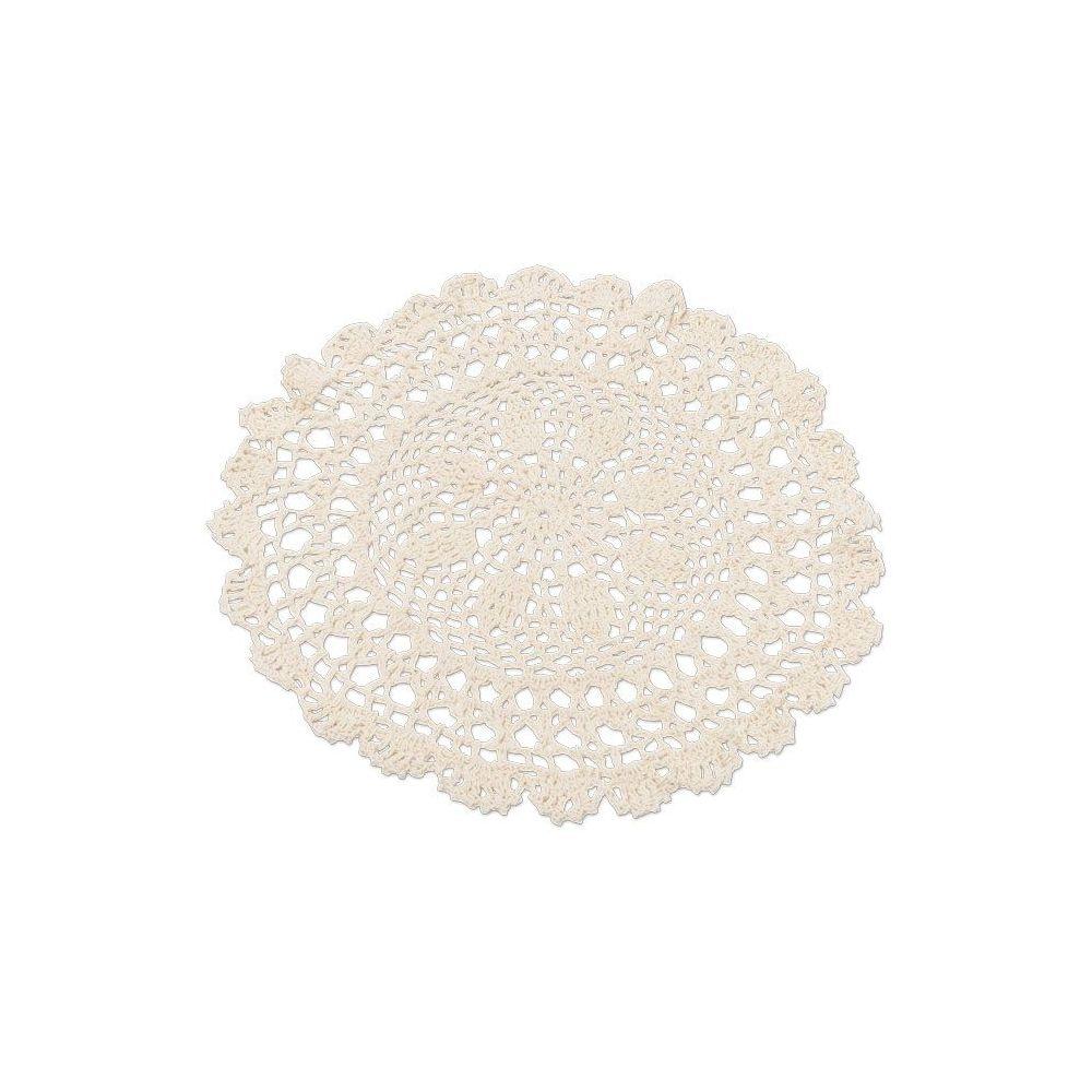 Napperon crochet crème - 30cm