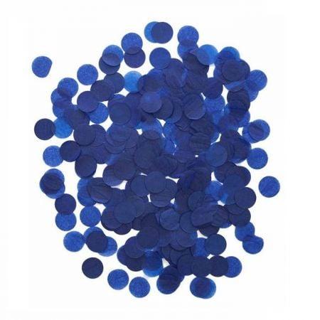 20g confettis bleu foncé