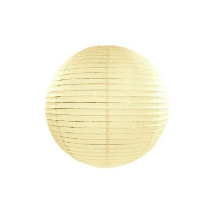 Lampion crème - 25 cm