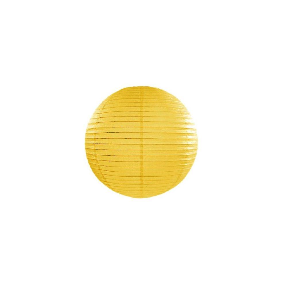Lampion jaune - 25 cm