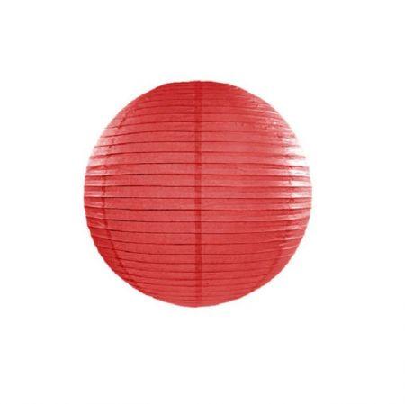 Lampion rouge - 25 cm