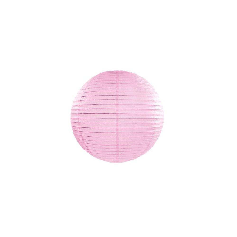 Lampion rose clair - 25 cm
