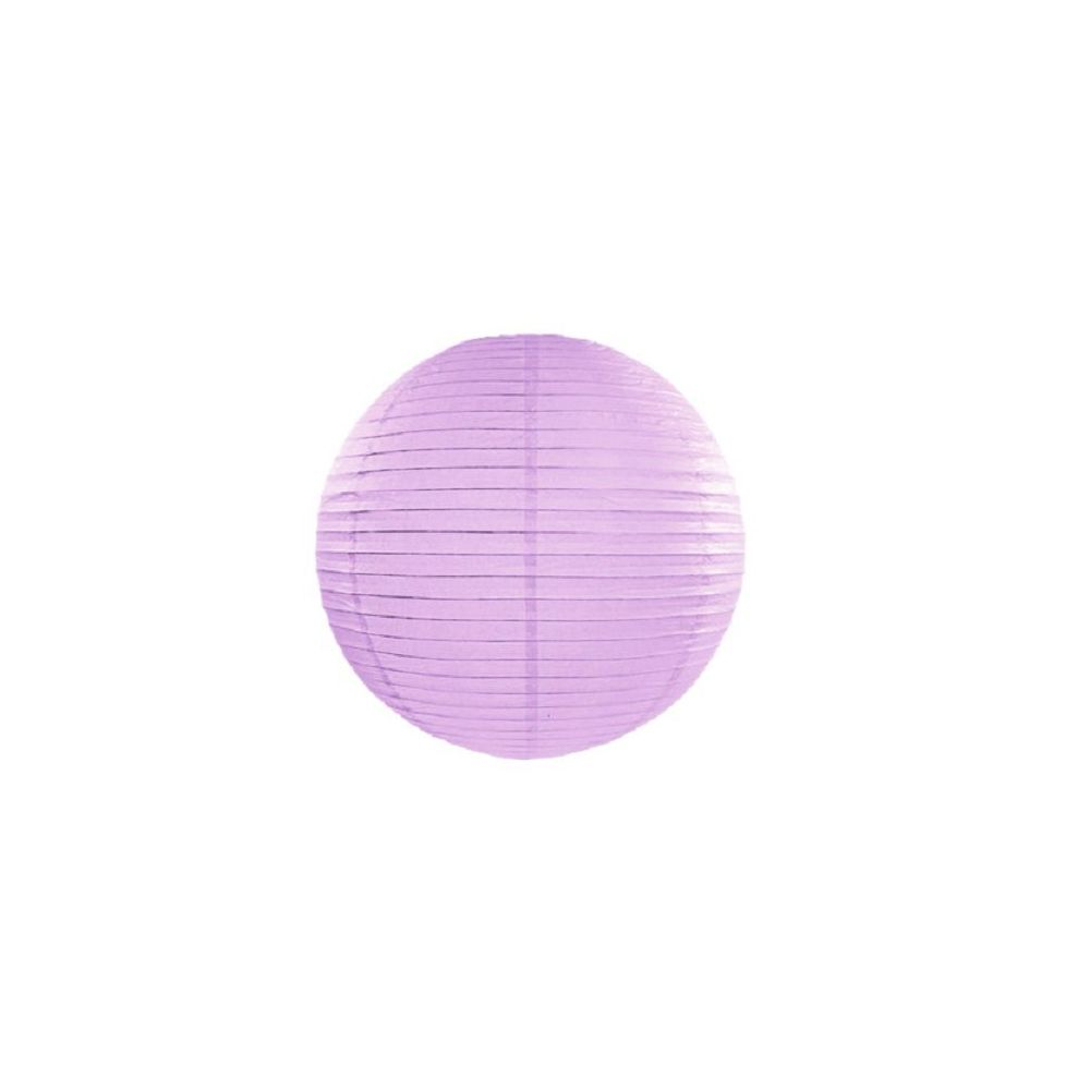 Lampion mauve - 25 cm
